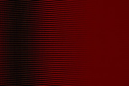 Orange Red RGB LED Pixel Pitch - Color Mixing LEDS. Perspective view SMD Technology Screen Display