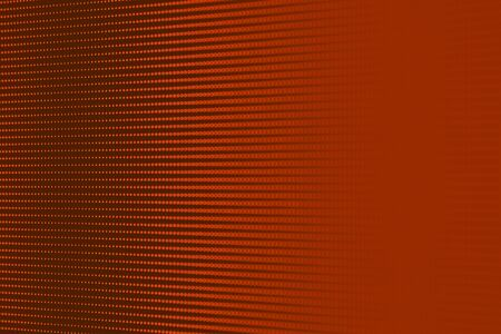 Blurry Orange RGB LED Pixel Pitch - Color Mixing LEDS. Perspective view SMD Technology Screen Display