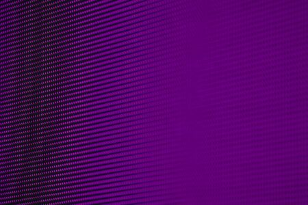 Blurry Dark Purple RGB LED Pixel Pitch - Color Mixing LEDS. Perspective view SMD Technology Screen Display Stock Photo