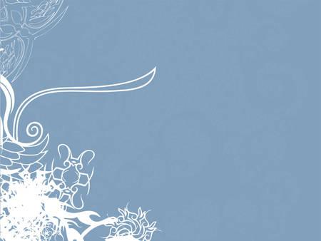 blue & white retro twirl background (vector eps format) Vector