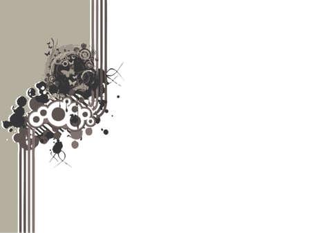 フォーマット: 蝶 (ベクトル形式) と近代的な泡の背景