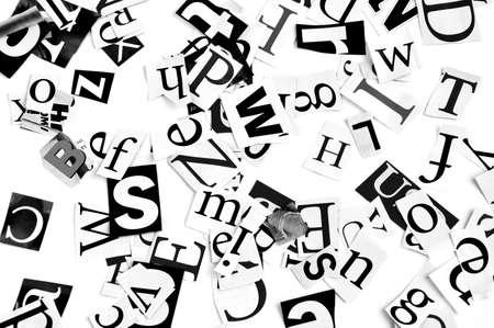 periodicos: letras de peri�dico, fondo