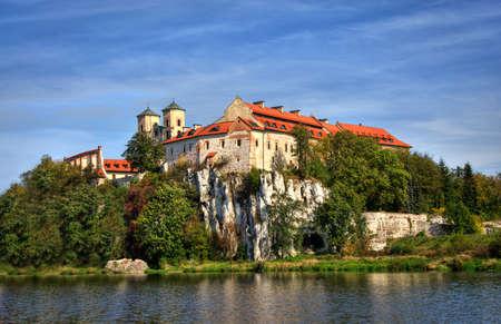 Tyniec Monasterio in Krakow, Poland Editorial