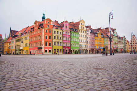 Old Town in Wroclaw, Poland