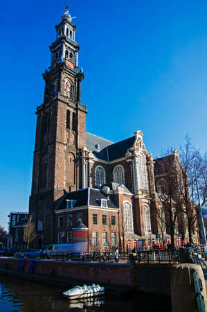 westerkerk: The Westerkerk in Amsterdam