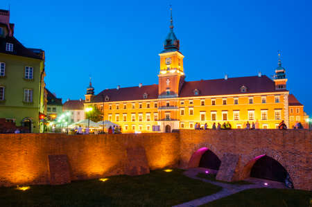 oldtown: Royal Castle in Warsaw