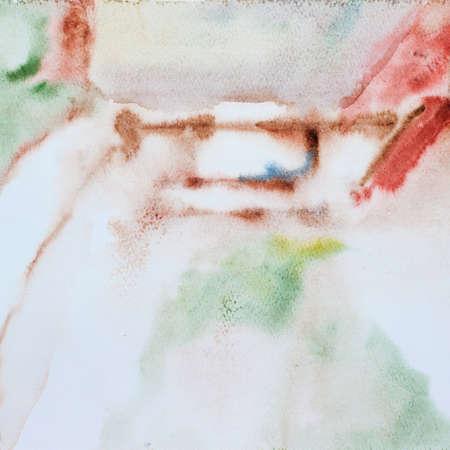 guache: fondo abstracto gouache sobre papel
