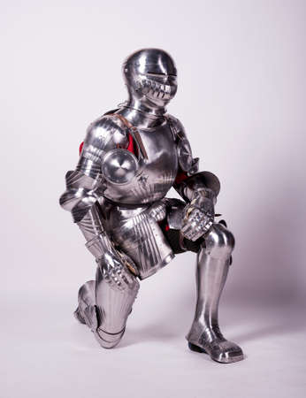 one item: Knight in metal armor