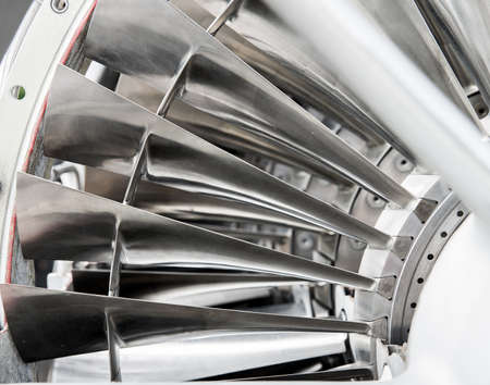 industry concept: background, part of an airplane engine