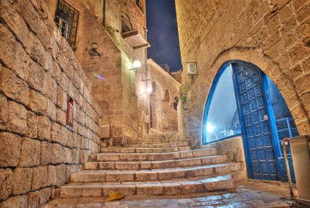jaffo: stone old city Jaffa in Tel Aviv