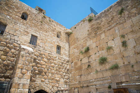 western wall: Western Wall in the Old City of Jerusalem