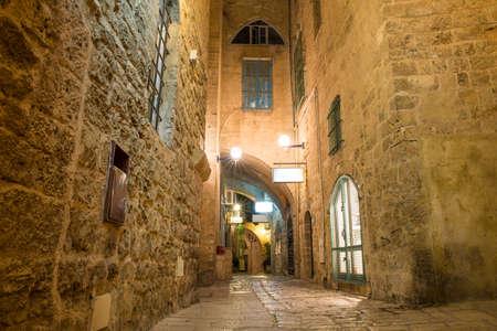 tel aviv: stone old city Jaffa in Tel Aviv