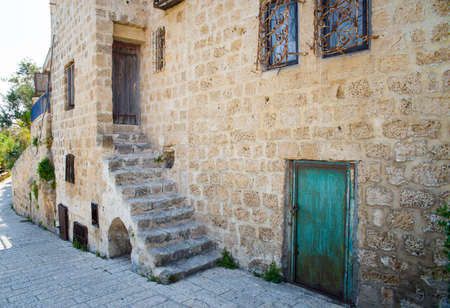 old port: the old port city of Jaffa in Tel Aviv