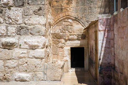 humility: The Door of Humility, main entrance into the Church