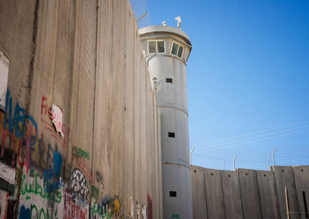 west bank: The Israeli West Bank barrier  is a separation barrier