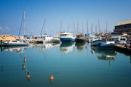 jaffo: TEL AVIV, ISRAEL - JUNE 5, 2015: Jaffa - the ancient port, historical city of the Middle East, which today lies within Tel Aviv. June 5, 2015. Tel Aviv, Israel.