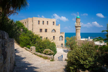holyland: old architecture of Tel Aviv