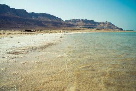 coastline: View of Dead Sea coastline