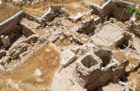 excavations: excavations in the Old City of Jerusalem