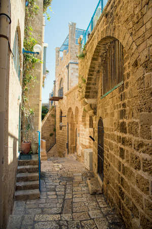 old stone city Jaffa in Tel Aviv