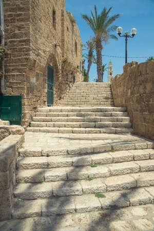 jaffo: old stone city Jaffa in Tel Aviv
