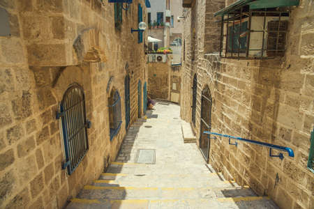 jaffa: old stone city Jaffa in Tel Aviv