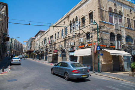 jafo: TEL AVIV, ISRAEL - JUNE 5, 2015: Jaffa - the historical city of the Middle East, which today lies within Tel Aviv. June 5, 2015. Tel Aviv, Israel.