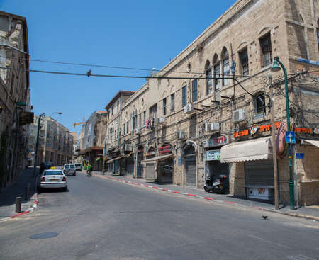 jaffo: TEL AVIV, ISRAEL - JUNE 5, 2015: Jaffa - the historical city of the Middle East, which today lies within Tel Aviv. June 5, 2015. Tel Aviv, Israel.