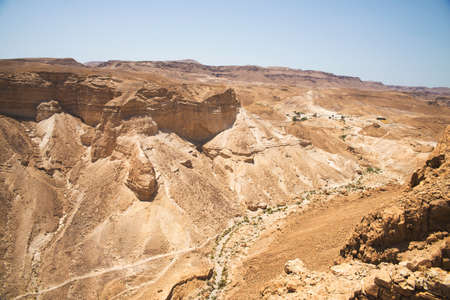 jewish: Mountain views in Israel, Masada
