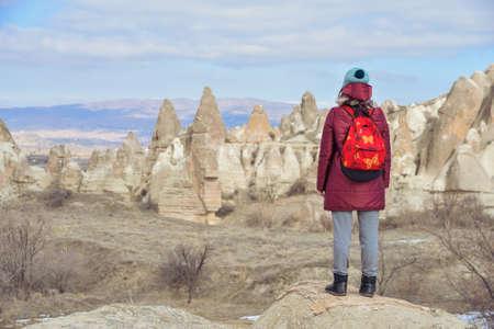 the love valley in Cappadocia, Turkey