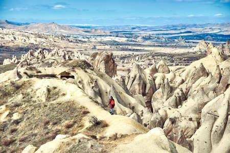 Cappadocia is a historical region in Central Anatolia, Turkey