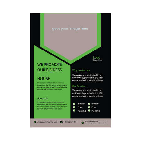 Classic Professional Business Flyer Design Template
