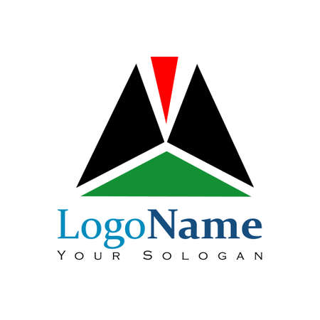 Pictorial Mark logo template for Organization