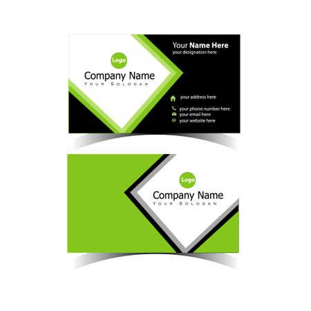 Classic Business Card Design Template 免版税图像 - 151152755