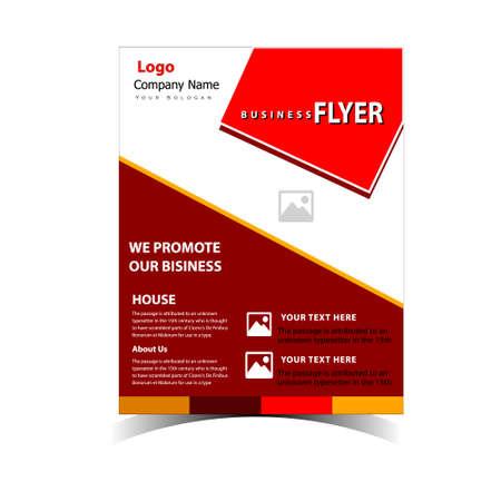 Business Flyer Design Template for Organization