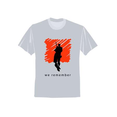 Mens short sleeve t shirt vector design