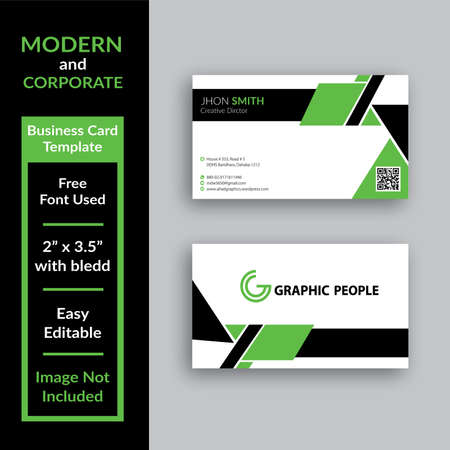 Modern and Corporate Business Card Template