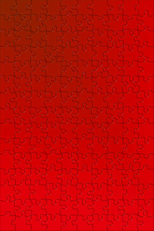 complete: Complete puzzle in red.