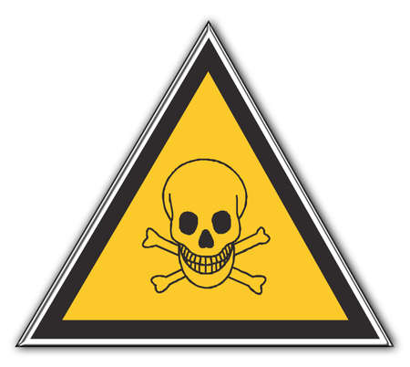 Attention Poison Stock Photo