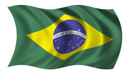 trade union: Flag of Brazil