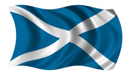 trade union: Flag of Scotland