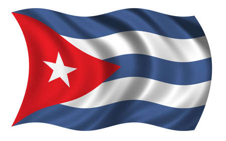 Flag of Cuba photo