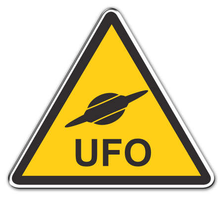 Warning Sign: Attention UFO
