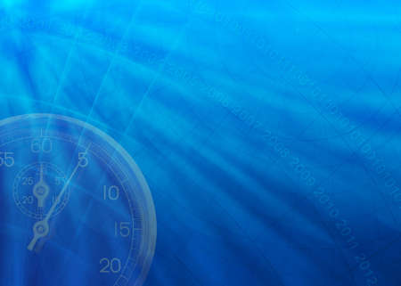 Blue business background with time theme Stock Photo - 301904