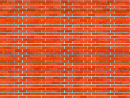 Red brick wall texture - seamless, high resolution brick wall texture Stock Photo - 312753