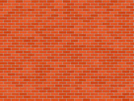 brick floor: Textura de pared de ladrillo rojo - sin fisuras, alta resoluci�n de textura de pared de ladrillo
