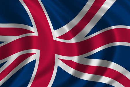 Flag of Great Britain - high resolution detail of the british flag photo