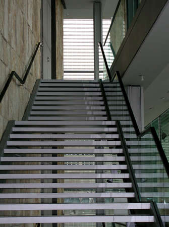 Stairway in a European gallery Stock Photo - 342062