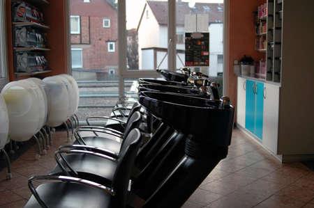 Hair Salon - hair wash baisins
