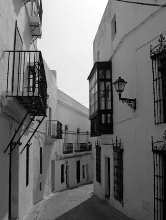 Backstreet - backstreet in a small spanish village photo